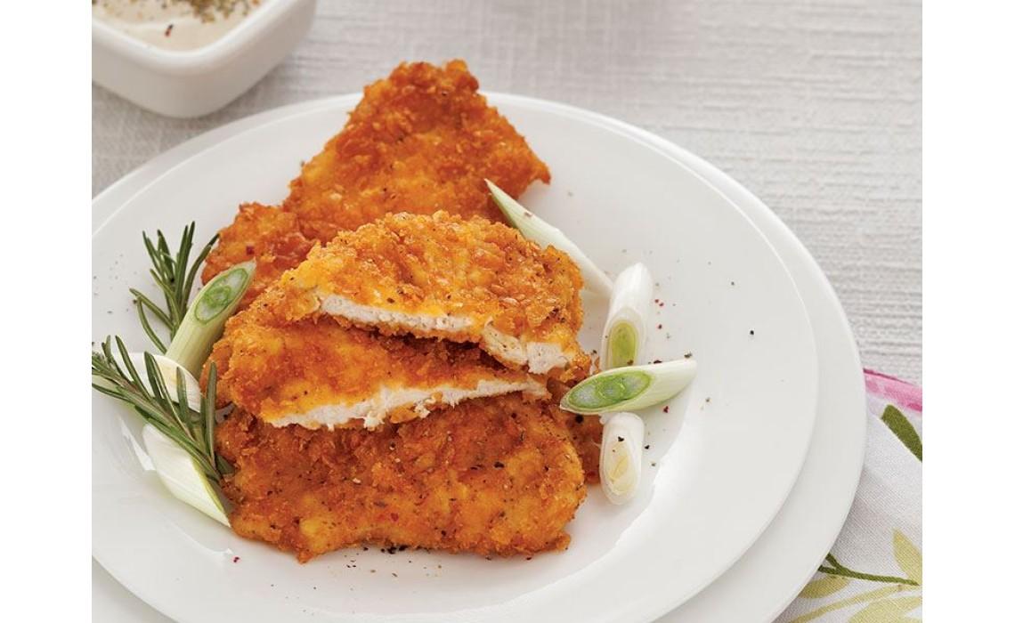 Yulaflı Tavuk/ Hindi Sinitsel